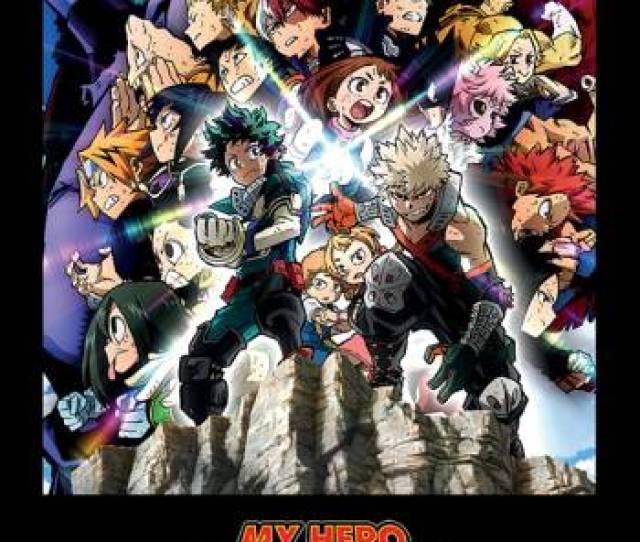 My Hero Academia Heroes Rising In Cinemas My Hero Academia