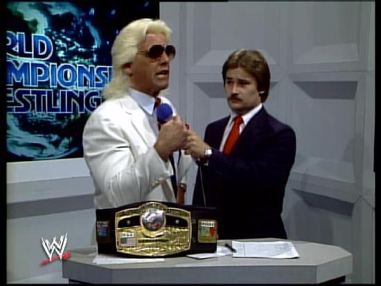 Ric Flair campeão da NWA