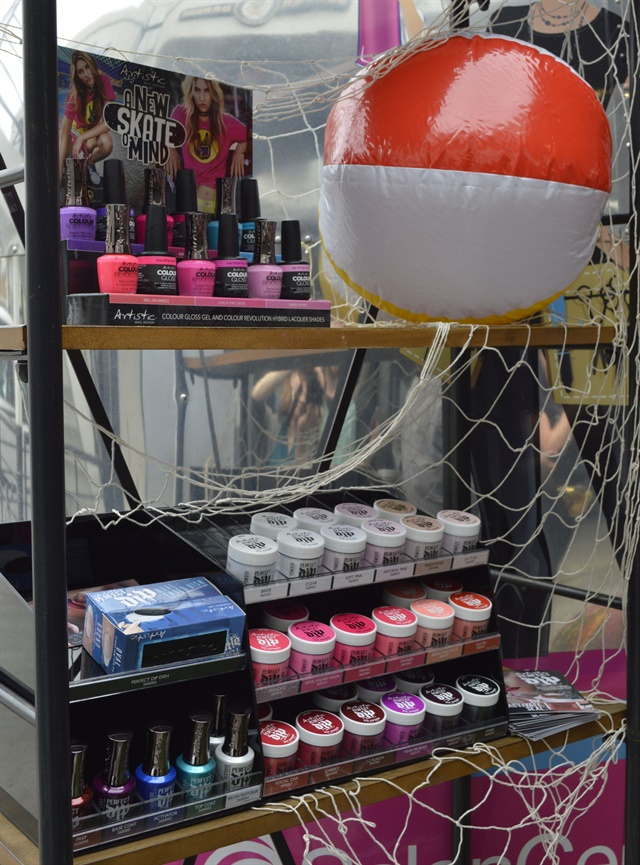 Artistic Nail Design S New Skate Of Mind Collection And Perfect Dip System Also Made An Appearance Attendees Were Excited To See Demos The