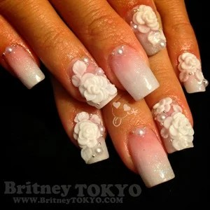 New York And Tokyo My Nail Designs Are Inspired By American Pop Art Harajuku Fashion Most Of Filled With Lots Color