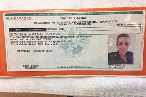 A Valid License Must Be Displayed This Is Castillo S