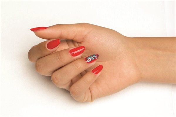 Get In The Spirit For Chinese New Year February 19 With This Nail Art Step By Using Gelish S Collection