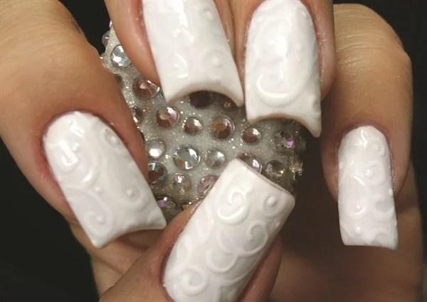 15 Matte Black Gel Nail Art Designs Ideas