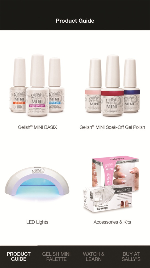 Resources And Ping Links Make The Gelish Mini App Feel Like You Have A Professional Nail Tech On Sd Dial Who Has All Answers