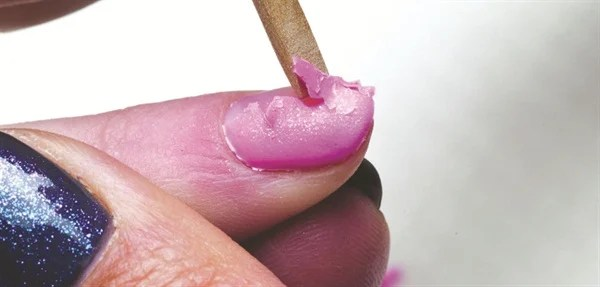 Gel Polish Should E Off Easily With No Heavy Handed Or Forceful Sing Says Doug Schoon President Of Scientific And Renowned Nail Industry