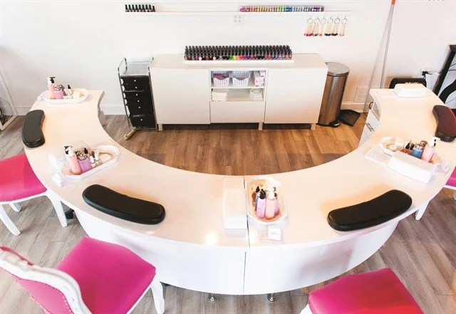 Dallas Beauty Lounge Offers Plenty Of Nail Services To Choose From But The Most Por Options Are Gel Manicures Acrylic And Art