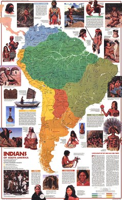 Indians of South America Map Home  Indians of South America Map  Zoom