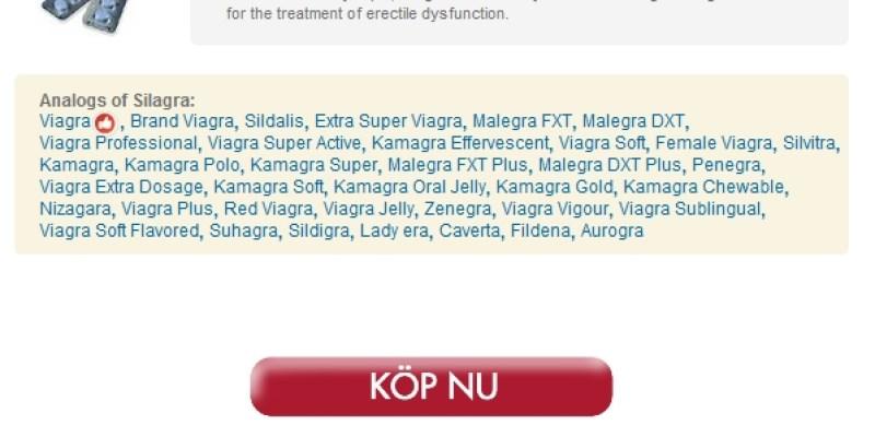 Inköp 100 mg Silagra Nu - Betrodda På Nätet Apotek - Gratis Kurir Leverans