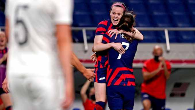 USWNT routs New Zealand 6-1 for first win of Tokyo Games