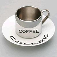 Anamorphic coffee mug from Lazybone