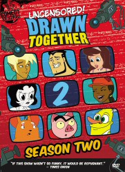 Drawn Together Season 2 DVD cover art