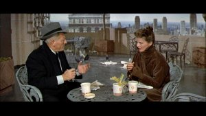 Spencer Tracy and Katharine Hepburn in 'Desk Set'
