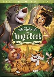 Jungle Book DVD cover art