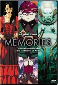 DVD cover art for Memories