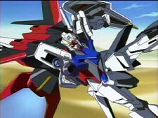 Pic from Mobile Suit Gundam Seed, Vol. 1: Grim Reality