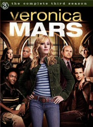 Veronica Mars Season 3 DVD cover art
