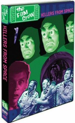 The Film Crew: Killers From Space DVD cover art