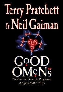 Good Omens book cover art