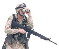 Redeployed Army Desert Infantry