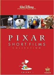 Pixar Short Films Collection DVD cover art