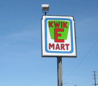 Kwik-E-Mart live and in person