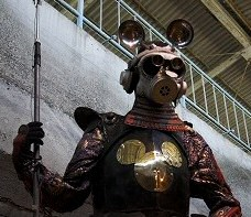 Yanobe Kenji's Mickey the Knight