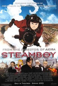 Movie poster art for Steamboy