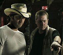 Co-directors Frank Miller & Robert Rodriguez