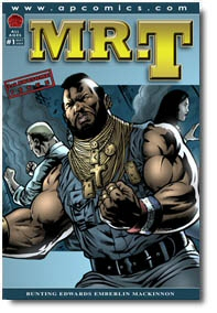 Mr. T #1 from AP Comics