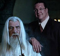 Penn Jillette & Gandalf: Together again for the first time