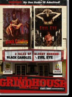 Welcome to the Grindhouse: Black Candles and Evil Eye DVD cover art