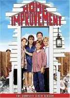 DVD cover art for Home Improvement: The Complete Sixth Season