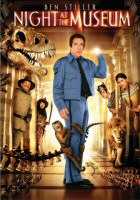 DVD cover art for Night at the Museum