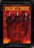 DVD cover art for Vengeance of the Zombies