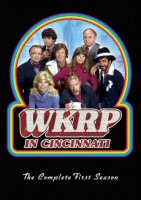 DVD cover art for WKRP in Cincinnati: The Complete First Season