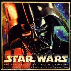 The Music of Star Wars 30th Anniversary Collector's Edition CD cover art