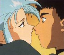 Tenchi and Ryoko from Tenchi Muyo!