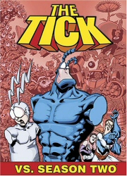 The Tick vs. Season Two DVD cover art