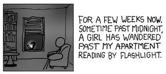 Nighttime Stories from xkcd