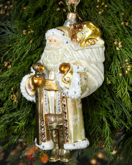 Jay Strongwater St Nicholas Christmas Ornament