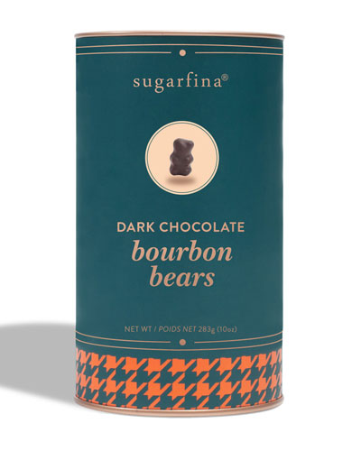 Sugarfina Dark Chocolate Bourbon Bears Canister