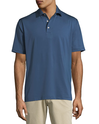 Peter Millar E4 Midnight Stretch Polo Shirt