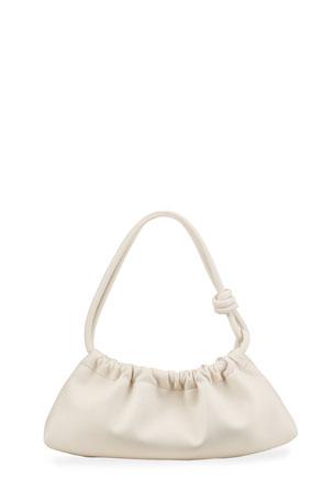 Nanushka Valerie Ruched Knot Shoulder Bag