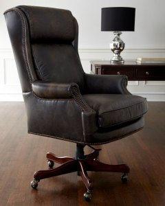 Hooker Furniture Mason Leather Desk Chair   Neiman Marcus Mason Leather Desk Chair