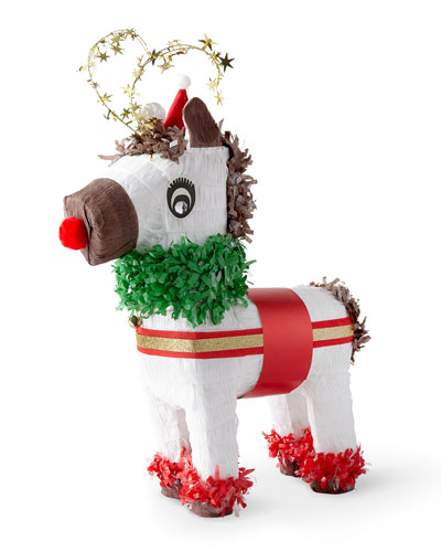 TOPS Malibu Inc. Large Red-Nosed Reindeer Pinata