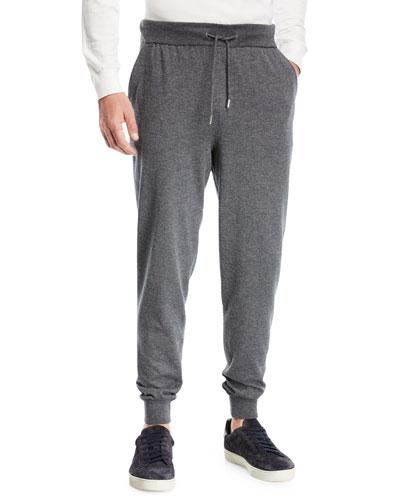 Ermenegildo Zegna Wool-Blend Jogger Pants