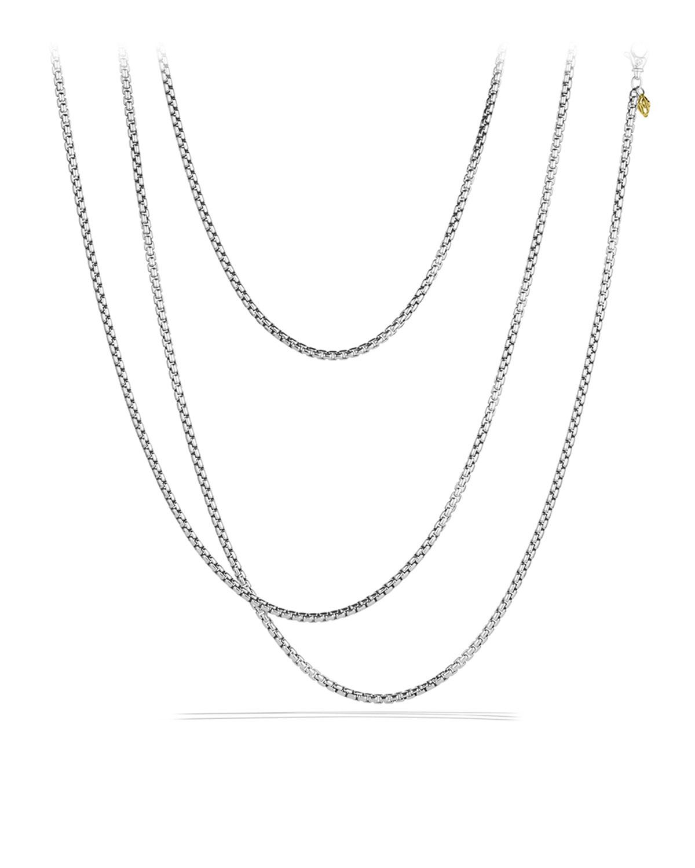 David Yurman Medium Box Chain With Gold 72 L