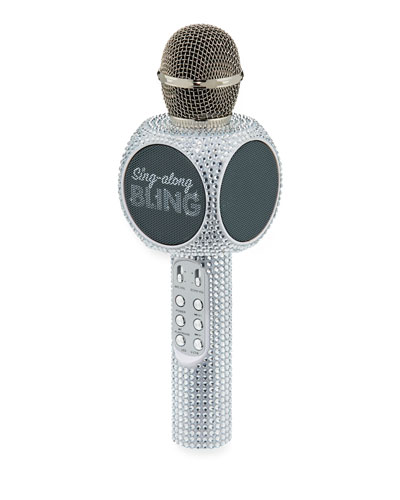 Sing-A-Long Bling Bluetooth Karaoke Microphone