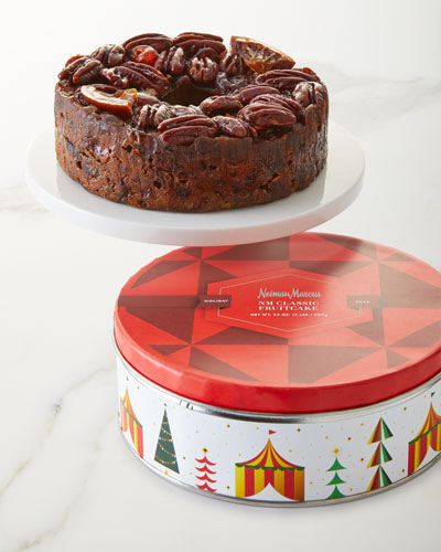Neiman Marcus Traditional Fruitcake In Whimsy Tin