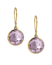 Ippolita Mini Lollipop Earrings, Amethyst
